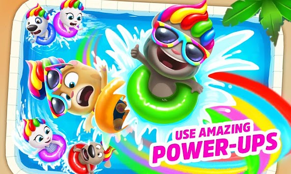 Talking Tom Pool apk screenshot
