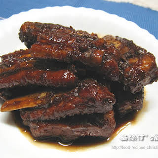 Sweet & Sour Spareribs.