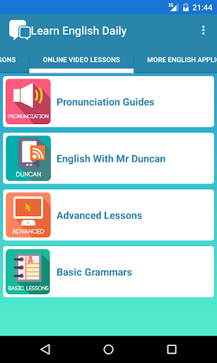 Learn English Daily for Android apk 2