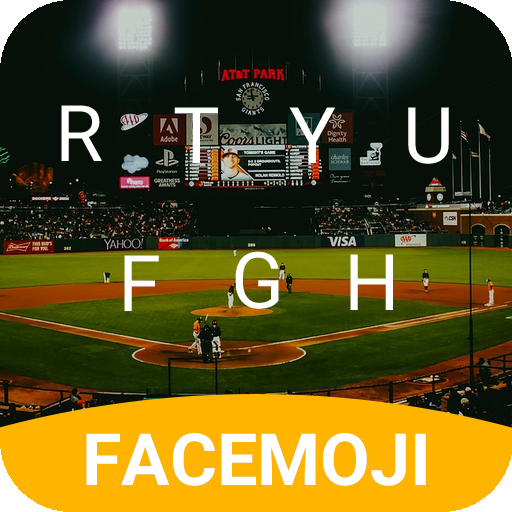 Baseball Derby Emoji Keyboard Theme for Giants