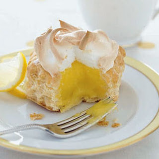 Lemon Meringue Nests.