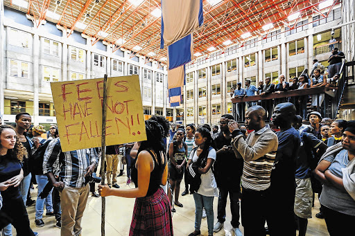 #FeesMustFall protests in SA led to the establishment of the Hefer Commission of Inquiry