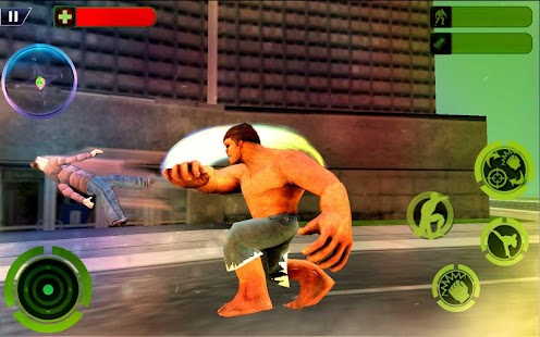 Incredible Monster Anti Terrorist City Battle Hero - náhled