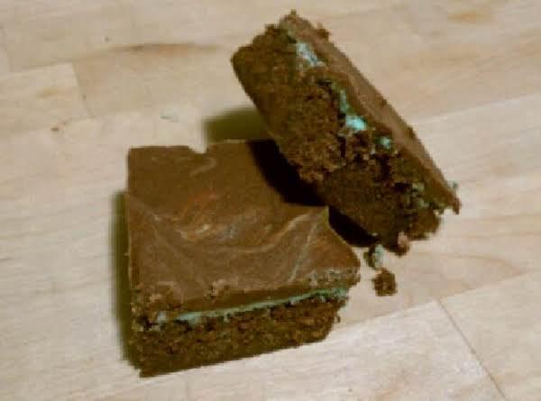 Grammy's Chocolate Mint Bars