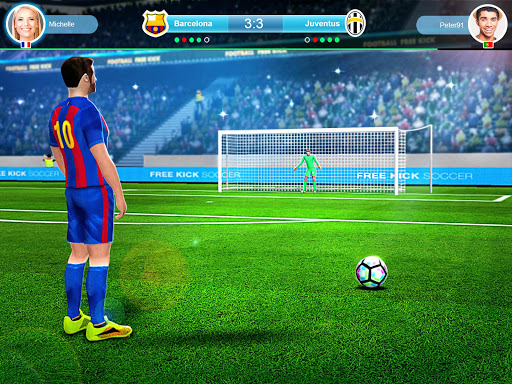 FreeKick PvP Football 1.2.1 gameplay | by HackJr.Pw 7