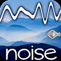 White noise relax music icon