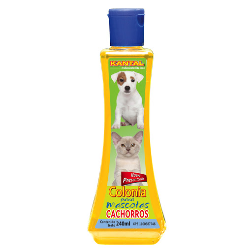 colonia para mascotas kantal perros/gatos 240ml