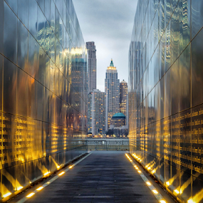 Empty Sky Memorial by Giancarlo Bisone - City,  Street & Park  City Parks ( 9/11, memorial, liberty state park, monument, steel, new jersey )