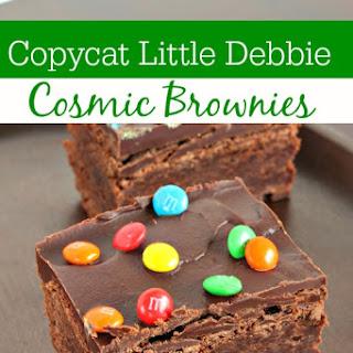 Copycat Little Debbie Cosmic Brownies