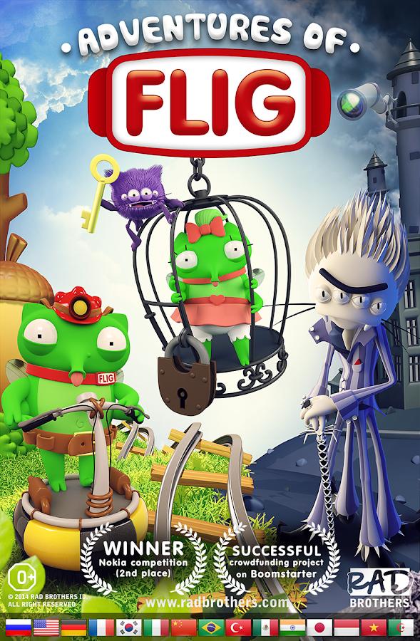 Adventures of Flig - screenshot