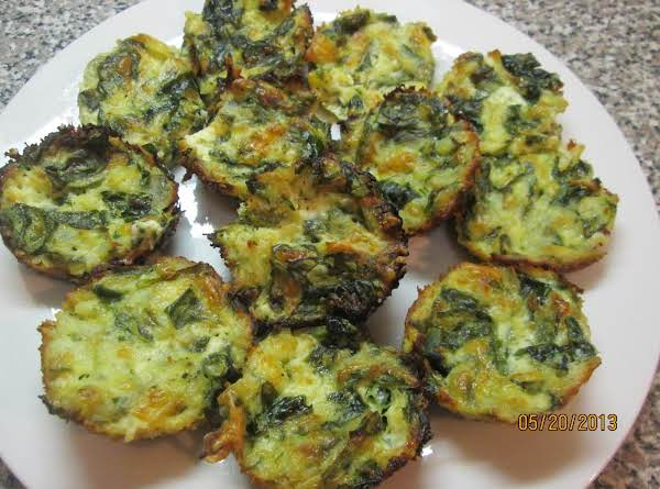 Spinach/swiss Medallions