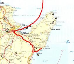 Photo: Tour vom 29.04.08 (Ankunftstag) von La Goulette nach Nabeul
