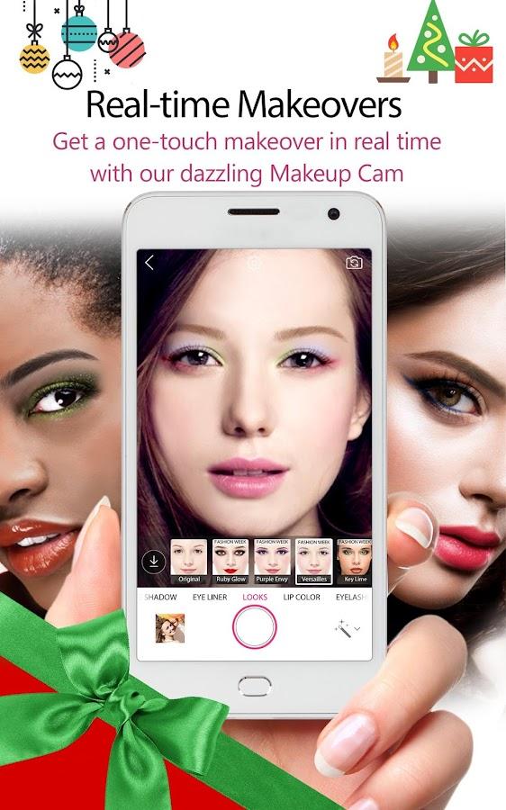 YouCam Makeup: Selfie Makeover- screenshot
