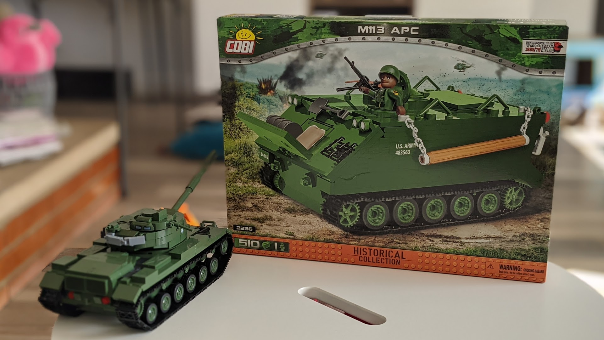 The COBI M113 Armored Personnel Carrier Box