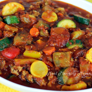 Rustic Turkey-Vegetable Marinara