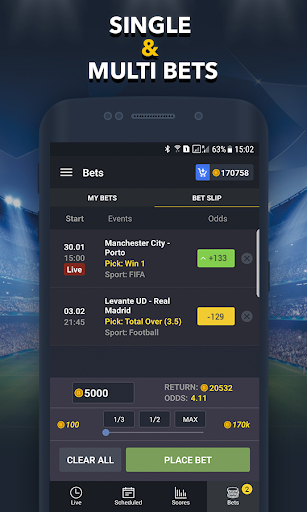 Sports Betting Game - BETUP 1.16 screenshots 5