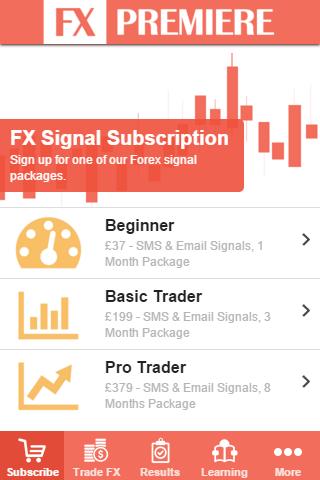 Best sms forex signals