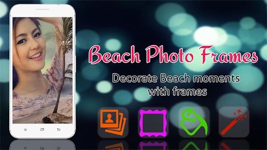 Beach Frames Photo Editor - náhled