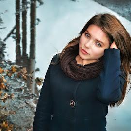 by Sergey Kuznetsov - People Portraits of Women