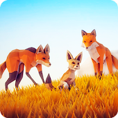 Fox Simulator Poly Art Adventure