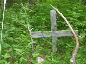 Photo: Burial - Anishinaabeg Burial Ground.