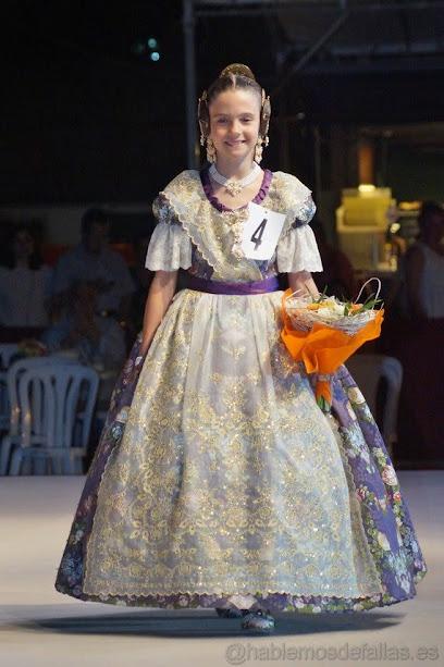 Marta García Cañadas. Corte de Honor Infantil 2019. Sant Vicent - Periodista Azzati
