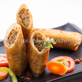 Mince Meat Roll Recipes.