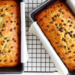 Chocolate Chip Cake Mix Banana Bread.