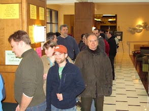 Photo: Registration!  The line was really swift.