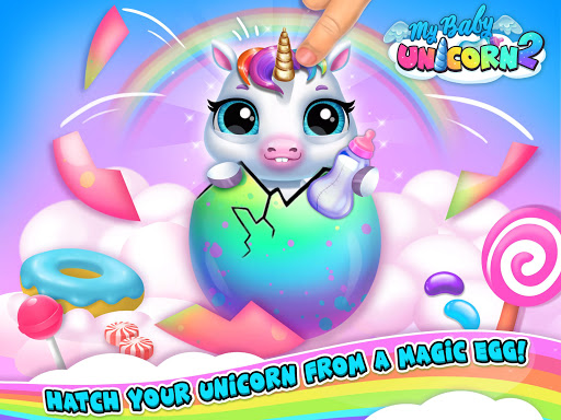 My Baby Unicorn 2 - New Virtual Pony Pet apkdebit screenshots 21