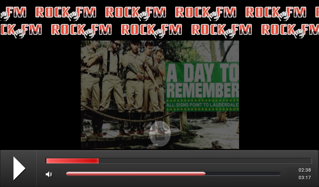 ROCK.FM- screenshot