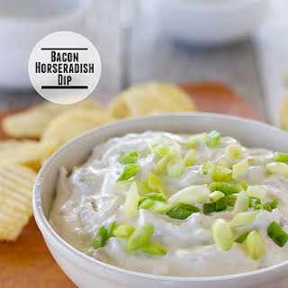Bacon Horseradish Dip.