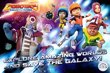 BoBoiBoy: Galactic Heroes RPG Ekran Görüntüsü