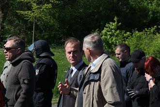 Photo: Bildmitte (v.l.n.r.) : Wolfram Nahrath und Manfred Börm