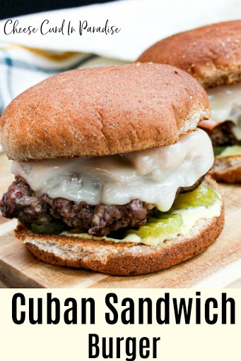 Cuban Sandwich Burger