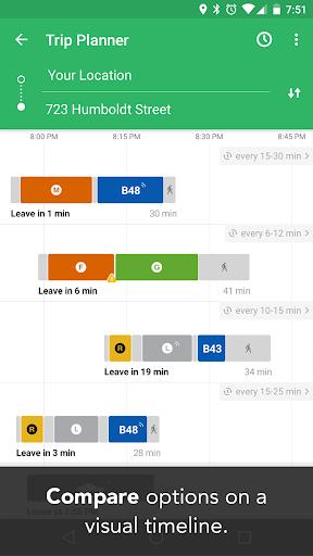 Transit: Real-Time Transit App Screenshot