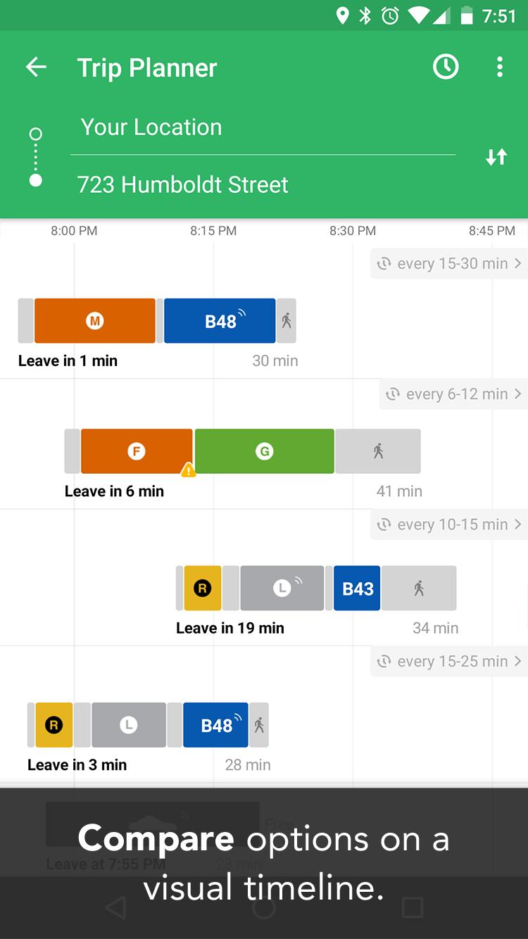 Transit: Real-Time Transit App screenshot #3