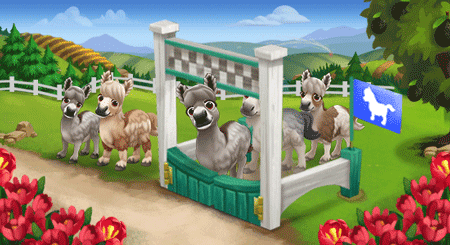 Farmville 2 mini donkey races