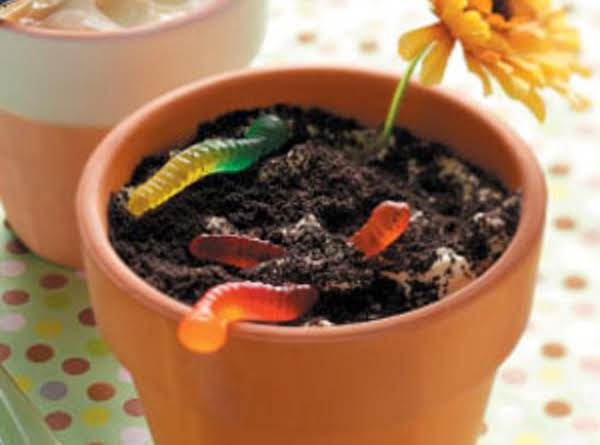 Worm Dirt Cake Recipe