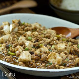 Mapo Tofu (Mabo Dofu)