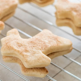 No Chill Snickerdoodle Cut Out Cookies.