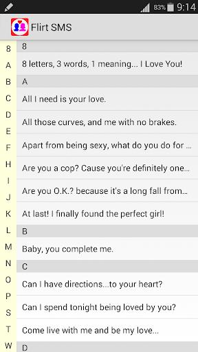 Flirt SMS