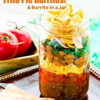 BURRITOS! New Mexico Frito Pie in a Jar