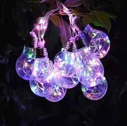 Ghirlanda cu 10 becuri LED, instalatie de interior/exterior, 4 metri
