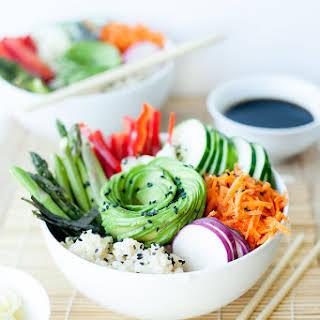 Sushi Salad Bowls.