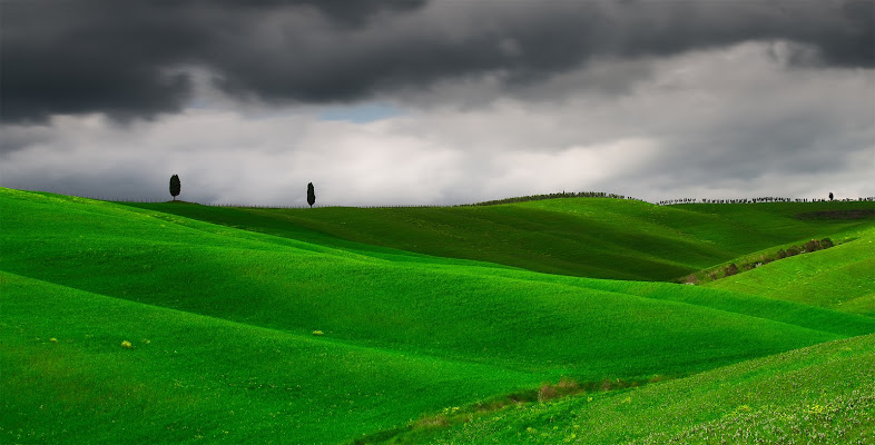 Nuvole in Val D'Orcia