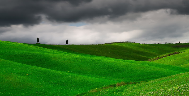 Nuvole in Val D'Orcia di Norman_Bates