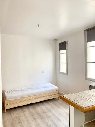 Location studio meublé 18,31 m2
