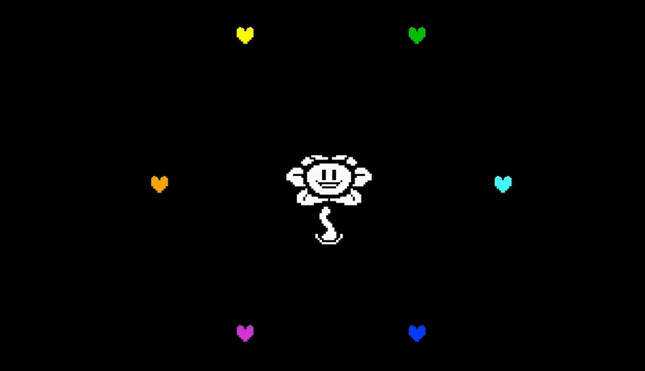 Flowey-and-Souls.png