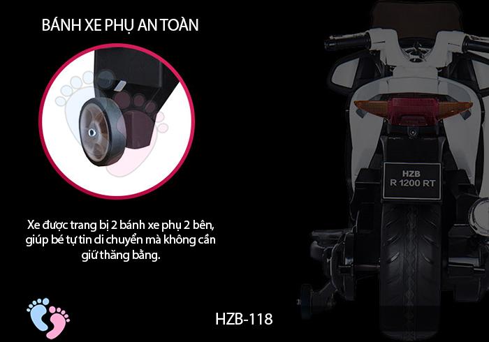 Xe mô tô điện cho bé HZB-118 15
